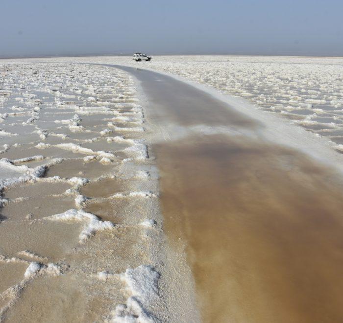Ethiopia, The salt lake Dallol, EastAfricaTourOperator.net