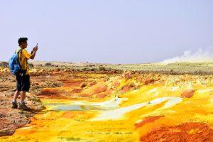 Ethiopia, sulfur pools and salt lakes, EastAfricaTourOperator.net