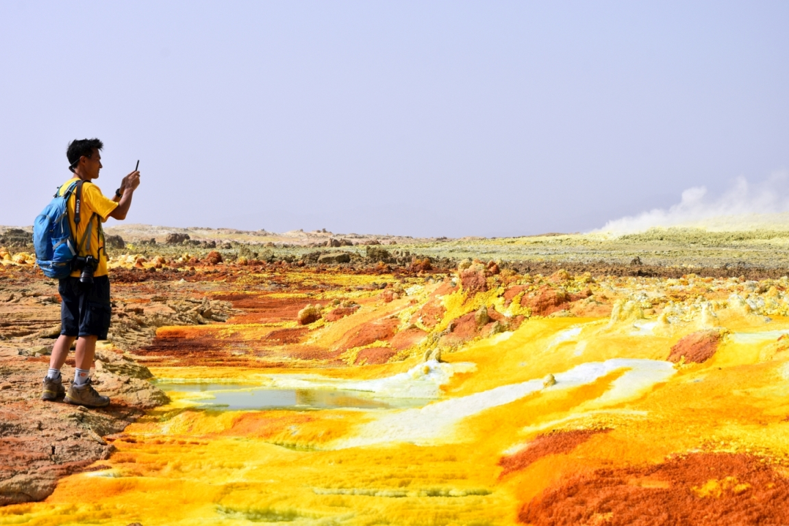 Ethiopia, sulfur pools and salt lakes, EastAfricaTourOperator.net