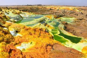 Ethiopia, sulfur pools and salt lake, EastAfricaTourOperator.net