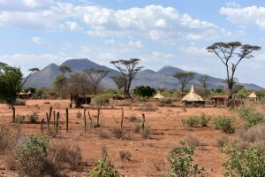 Ethiopia, Landscape and Village in Erbore South, EastAfricaTourOperator.net