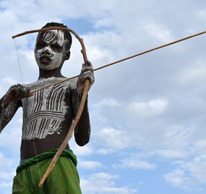 Ethiopia, A boy from Karo tribe, EastAfricaTourOperator.net