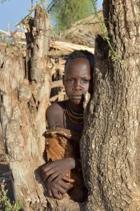 Ethiopia, A boy from Hamer Tribe, EastAfricaTourOperator.net