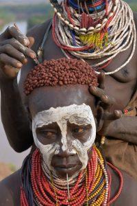 Ethiopia, A woman from Dassanech Omo Valley, EastAfricaTourOperator.net